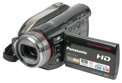 AVCHD-видеокамера Panasonic HDC-HS100