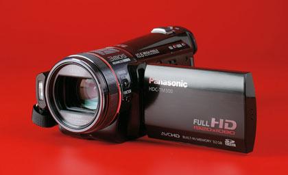 Флэш-камера высокой четкости Panasonic HDC-TM300