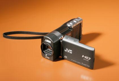 Флэш-камера высокой четкости JVC GZ-X900ER