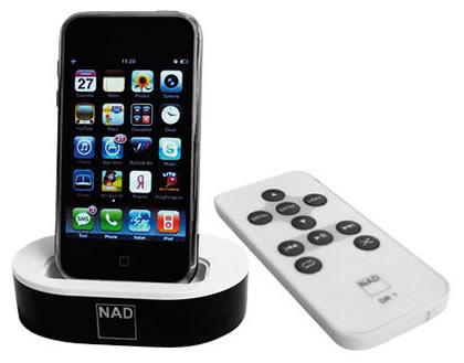 iPod-док NAD IPD2 и LED-ТВ Samsung 8000-й серии