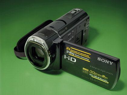 Full HD-видеокамера Sony HDR-CX520E