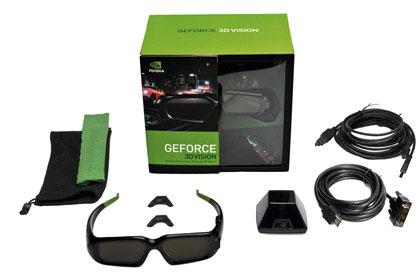 Для просмотра 3d программ nvidia 3d vision