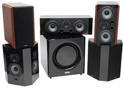 комплект акустики Polk Audio LSi и DSW Micro Pro 4000