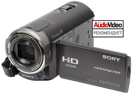 Sony HDR-CX350
