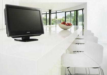 LCD TV-DVD-комбо Toshiba 22SLDT3R