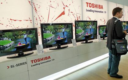 международная пресс-конференция Toshiba в Барселоне