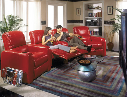 Мягкая мебель для домашних кинотеатров Berkline