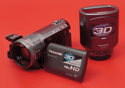 3D-видеокамера Panasonic HDC-SDT750. Плазменный телевизор Panasonic VIERA TX-PR42GT20