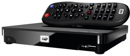 Сетевой HD-плеер WD TV Live Hub