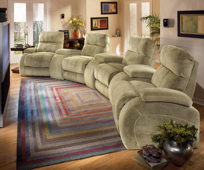 Кресла для домашнего кинотеатра Savoy от Berkline