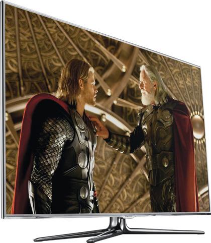 LED-телевизор Samsung UE55D8000 & Blu-ray-плеер Samsung BD-D7500