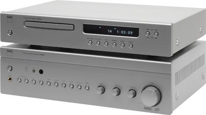 CD-проигрыватель NAD C 545BEE & Интегральный усилитель NAD C 356BEE