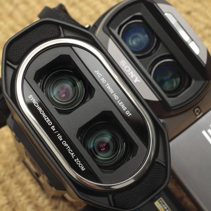 Видеокамеры 3D Full HD
