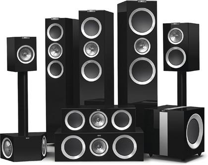 Серия акустики KEF R