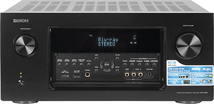 Blu-ray-плеер Denon DBT-3313UD и ресивер Denon AVR-4520