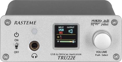 Компоненты Rasteme: USB-усилитель TRU22E и USB ЦАП UDAC192H