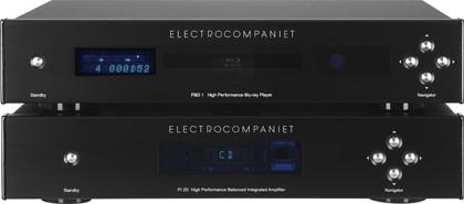Blu-ray-проигрыватель Electrocompaniet PBD1 и интегральный усилитель Electrocompaniet PI 2D