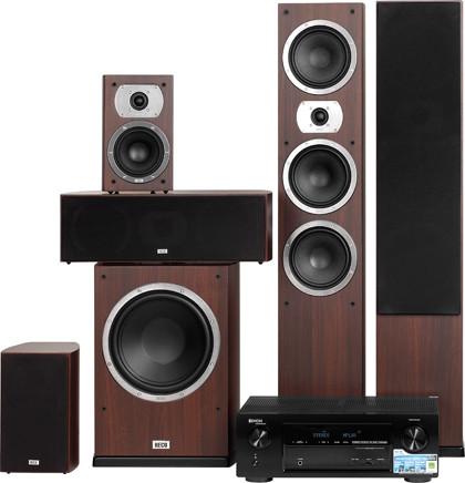 Ресивер Denon AVR-X1000 и акустика HECO Victa Prime 5.1