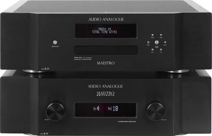 Audio Analogue: CD-проигрыватель Maestro Rev2.0 & интегральный усилитель Maestro Settanta Rev2.0