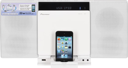 Hi-Fi-микросистема Pioneer X-SMC00-W