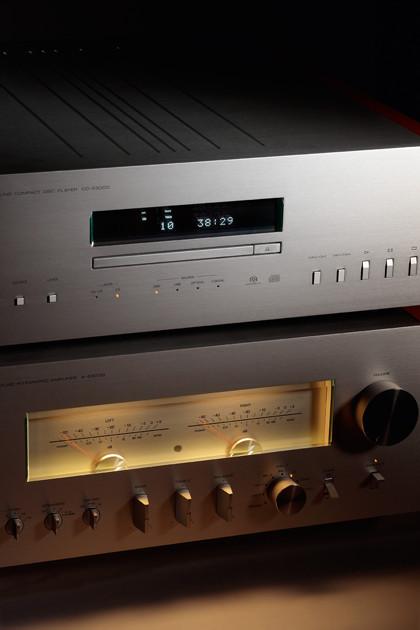 CD-проигрыватель Yamaha CD-S3000, интегральный усилитель Yamaha A-S3000