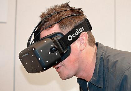 Прототип шлема виртуальной