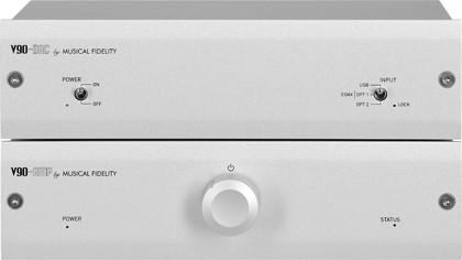 мини-усилитель Musical Fidelity V90-AMP, мини-конвертор Musical Fidelity V90-DAC
