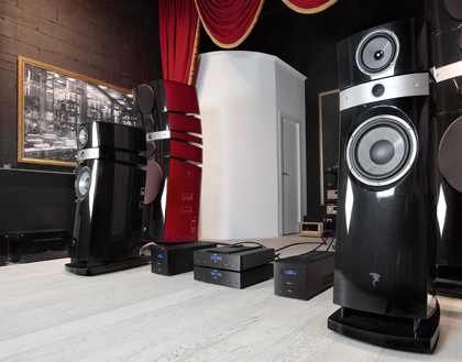 Компоненты Audionet и акустика Focal Scala Utopia V2