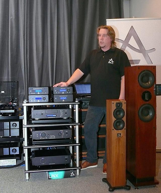 Презентация британской аудиотехники Leema Acoustics