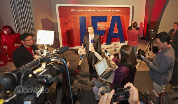 Международная пресс-конференция, посвящённая IFA2015