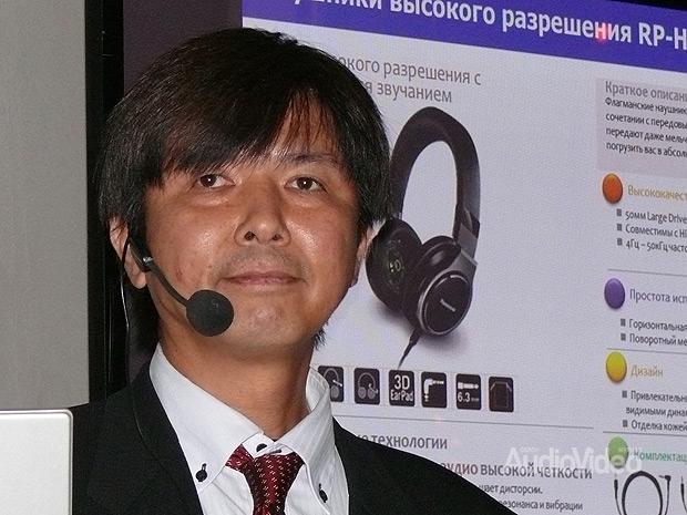 Panasonic демонстрирует новые наушники