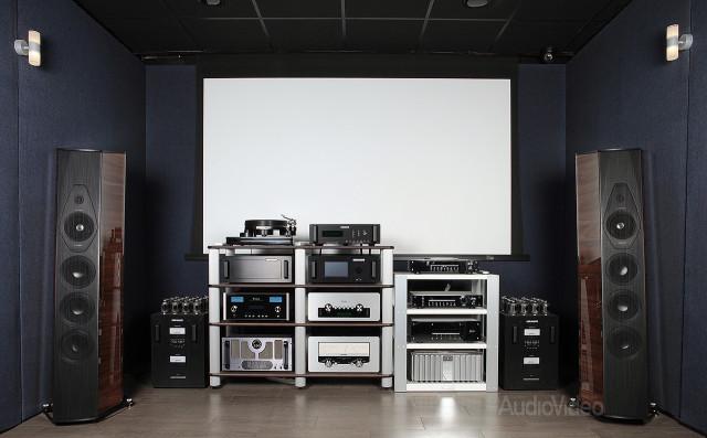 Компоненты Audio Research с акустикой Sonus Faber Lilium