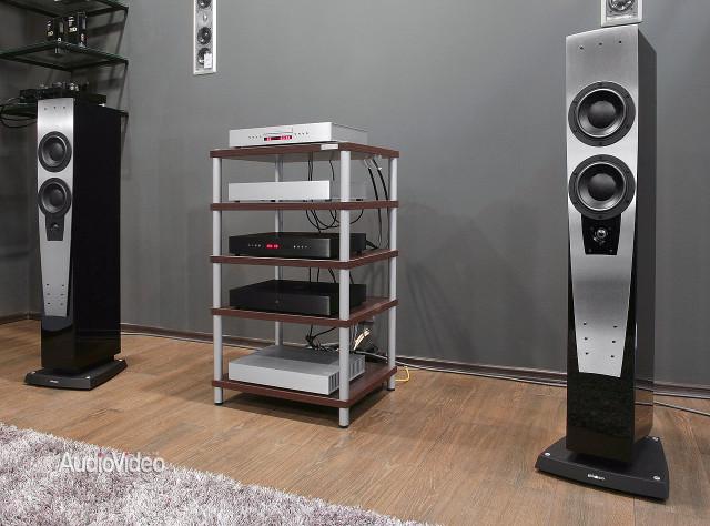 Компоненты Densen с акустикой Dynaudio S3.4 LE