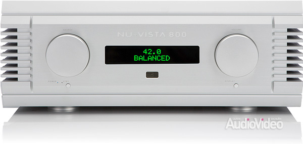 Musical Fidelity NuVista 800 front