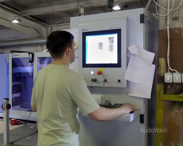 Arslab. Гордость фабрики – обрабатывающий центр с ЧПУ