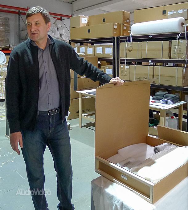 Arslab. Виктор Лагарпов показывает фирменную упаковку