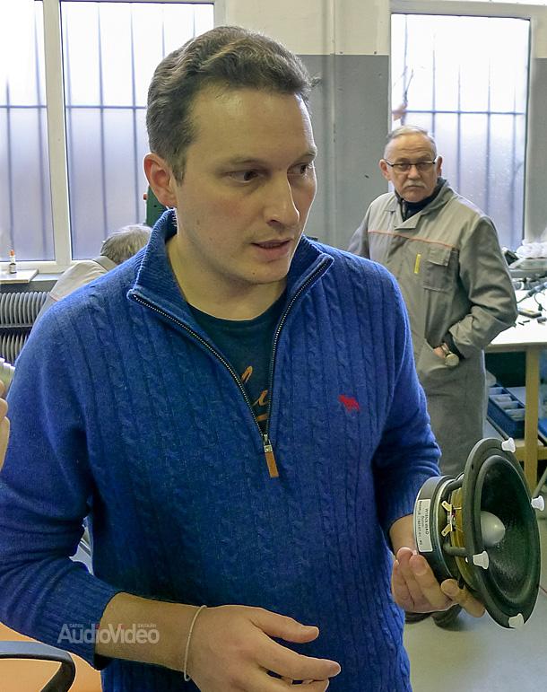 Arslab. Артём Фаермарк с динамиком SEAS