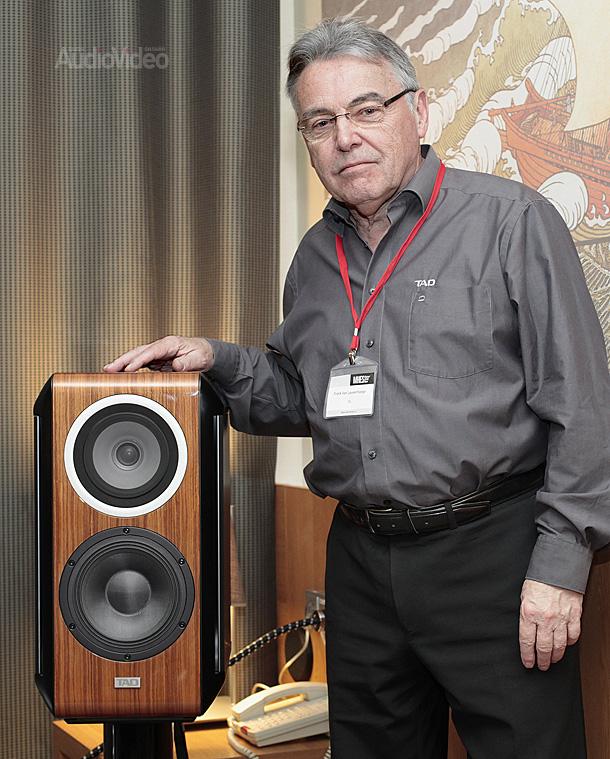 Франк Ван Льювенхейге, посол бренда TAD, и TAD CE-1