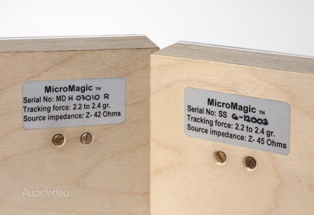 Обратная сторона упаковки головок звукоснимателей MicroMagic
