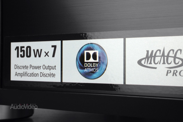 AV-ресивер Pioneer VSX-930-K наклейка