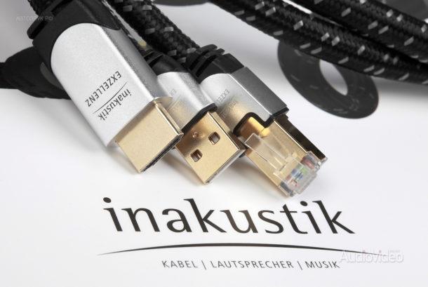 Кабели InAkustik обновленной серии Exzellenz