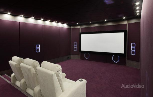 Акустика ICE в демонстрационном кинозале