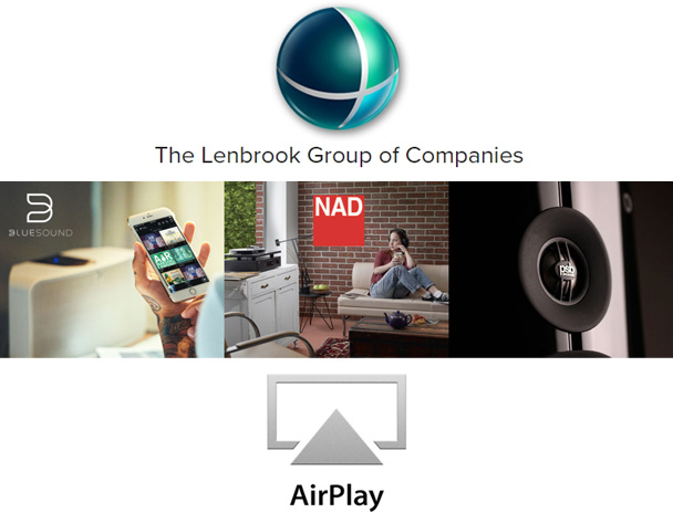 LENBROOK объявила о поддержке Apple AirPlay 2