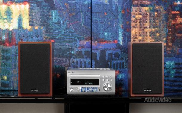 СD-ресивер Denon RCD-M41 и акустика SC-M41