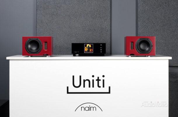 Сетевой ресивер Naim Uniti Atom и акустика Neat Iota