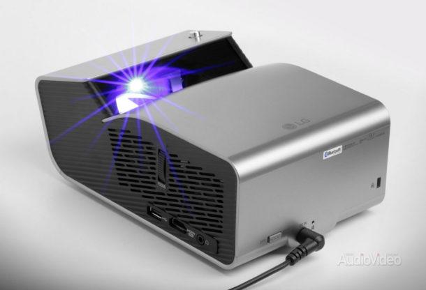 Проектор LG всегда на виду