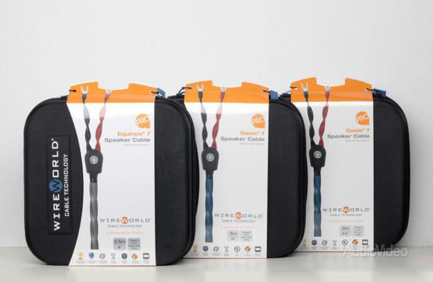 Акустические кабели WireWorld серии Pro
