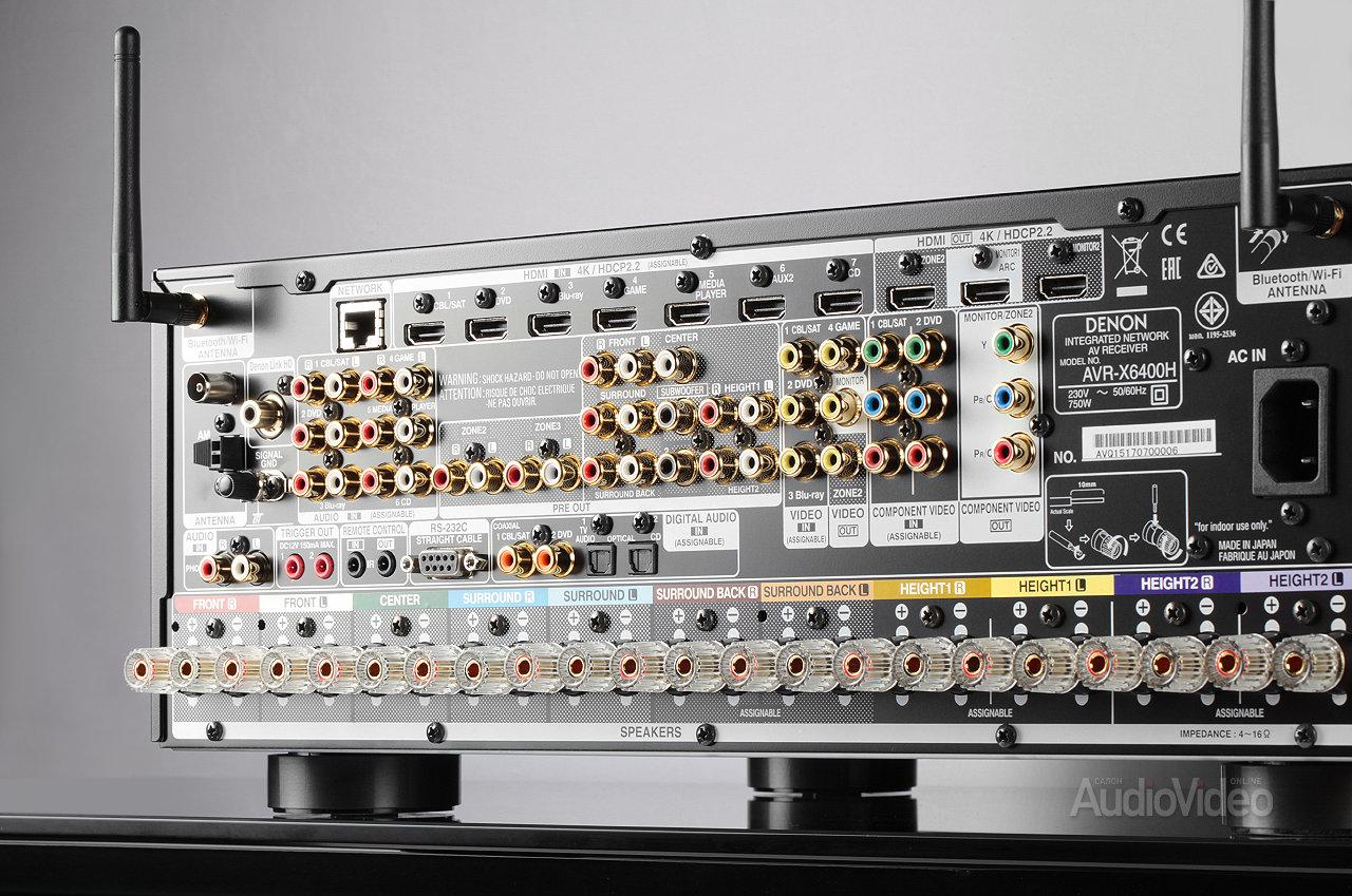 AV-ресивер Denon AVR-X6400H | журнал SalonAV
