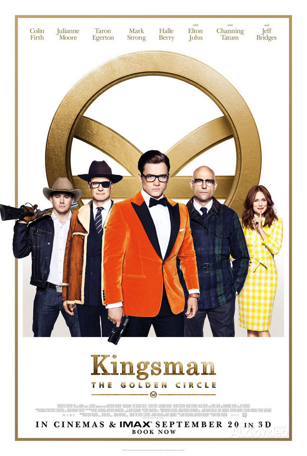 «Kingsman: Золотое кольцо» — Kingsman: The Golden Circle