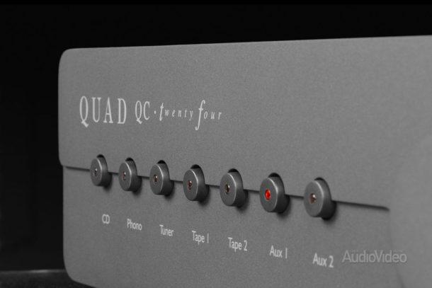 Предварительный усилитель Quad QC 24 и моноблоки Q II 40